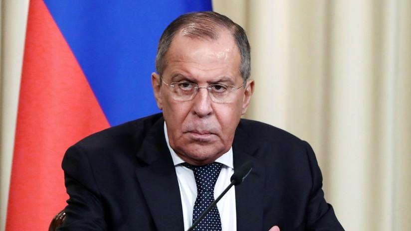 """Lavrov: """"Rusia hará todo lo posible para apoyar al gobierno legítimo de Nicolás Maduro en la defensa de la Constitución venezolana"""""""