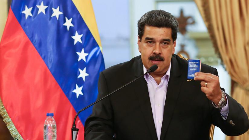 """Hands off Venezuela"": Maduro se dirige a Trump en inglés (VIDEO)"