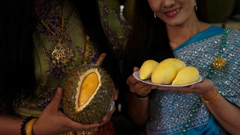 Una fruta que apesta: sacan al mercado variedad de durián a 1.000 dólares la unidad
