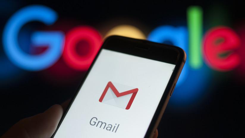 Reportan caídas de Gmail en varios países