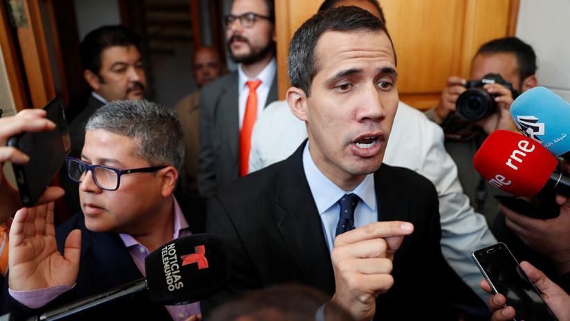 """Juan Guaidó: """"Vamos a solicitar también la protección de los activos de Venezuela en la UE"""""""
