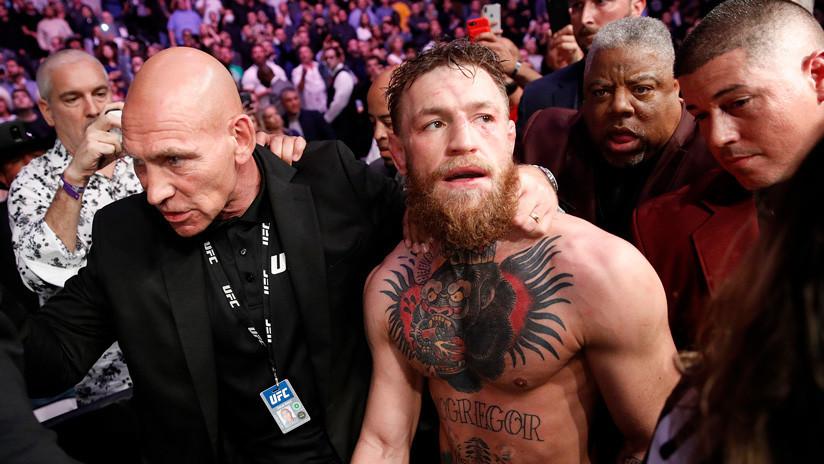 Sancionan a Conor McGregor por 6 meses por la trifulca posterior a su combate con Nurmagomédov
