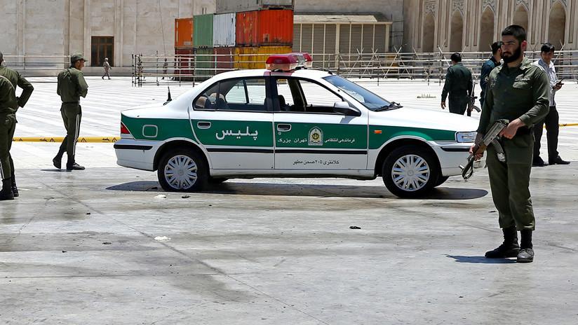 VIDEO: Reportan sobre dos explosiones cerca de una comisaría al sudeste de Irán