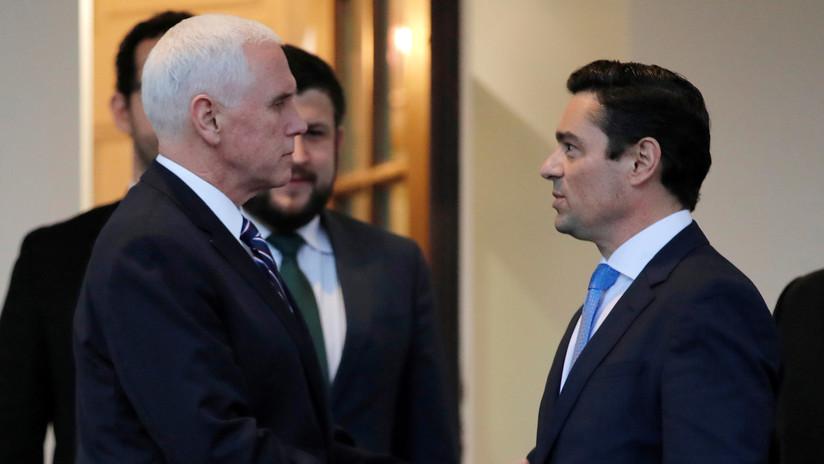 El vicepresidente de EE.UU. se reúne con opositores venezolanos y reafirma el apoyo a Guaidó