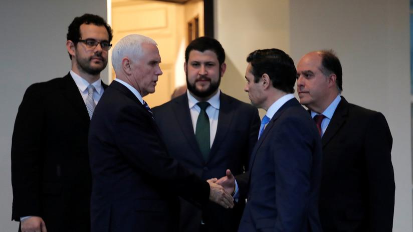 """""""Nadie legítimo te designó"""": Activistas interrumpen discurso del representante de Guaidó ante la OEA (VIDEO)"""