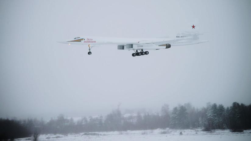 Rusia lanzará en serie el flamante nuevo bombardero Tu-160M en 2021