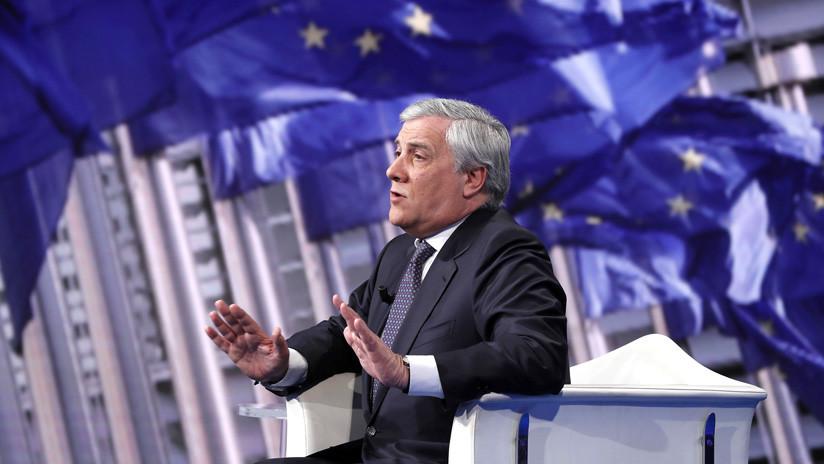 """Tajani dice que Juan Guaidó es el """"único interlocutor"""" del Parlamento Europeo en Venezuela"""