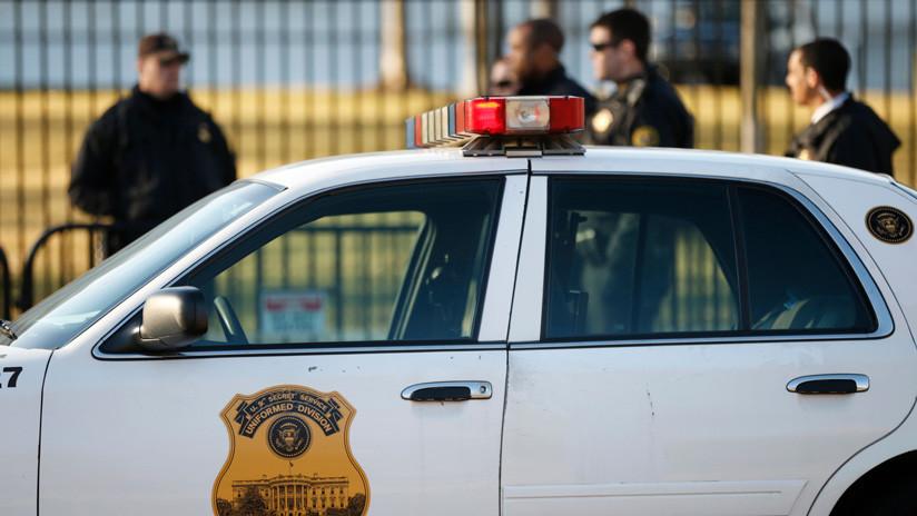 Un oficial herido en un incidente con una caravana oficial cerca de la Casa Blanca