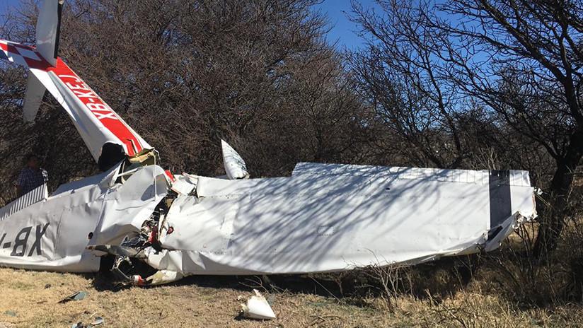 Muere funcionario mexicano al desplomarse la avioneta en que viajaba