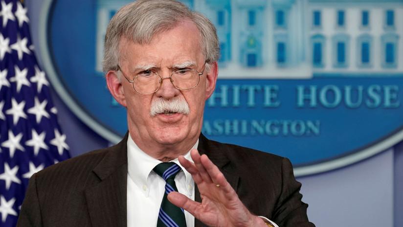 """Bolton: """"EE.UU. trabaja para que los beneficios económicos de los recursos de Venezuela no sean hurtados por Maduro"""""""