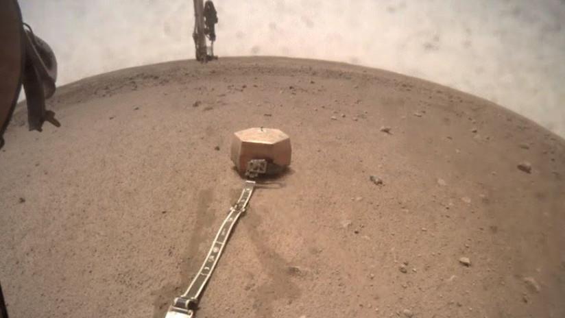 """La NASA publica nuevas imágenes de """"una tarde suave en Marte"""" captadas por la sonda InSight"""