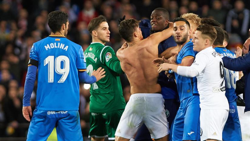 VIDEO, FOTOS: Brutal pelea en los cuartos de final de la Copa del Rey de España