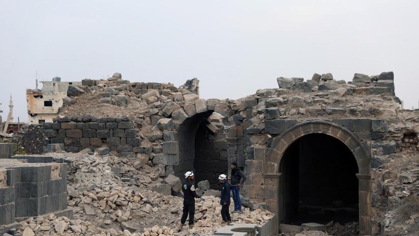 Rusia: Terroristas y Cascos Blancos preparan una provocación con armas químicas en Siria