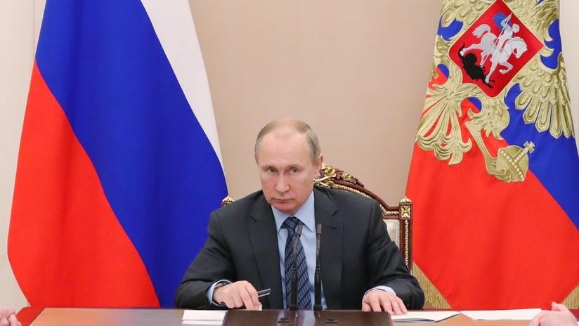 """Putin: """"Rusia no interviene en Ucrania, pero se reserva el derecho a defender los derechos humanos incluso en el campo de la religión"""""""