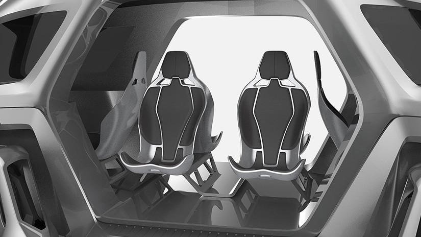 Revelan nuevo prototipo de auto que puede escalar
