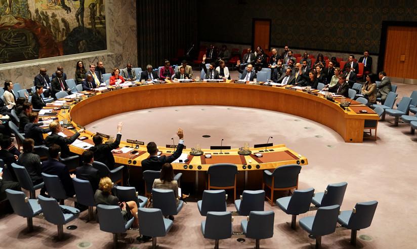 Consejo de Seguridad de la ONU, Nueva York, reunión del 21 de diciembre de 2018. / Carlo Allegri / Reuters