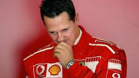 El siete veces campeón del mundo de Fórmula 1, Michael Schumacher.