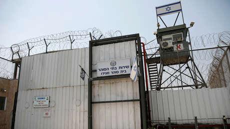 La prisión Megiddo, en el norte de Israel.