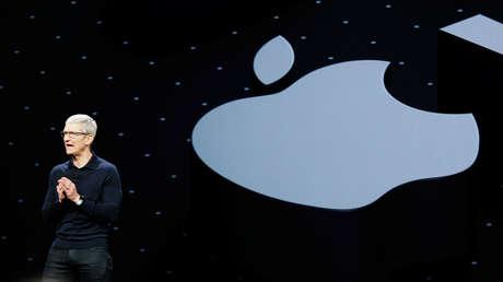 Tim Cook, el director ejecutivo de la compañía Apple.