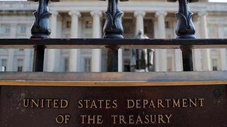 El Departamento del Tesoro de Estados Unidos en Washington, 6 de agosto de 2018.