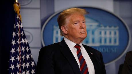 El presidente estadounidense, Donald Trump, en Washington, EE.UU., el 3 de enero de 2019