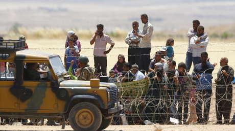 Los kurdos sirios.