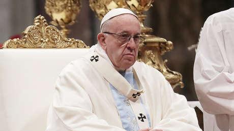 El papa Francisco oficia una misa en el Vaticano el día 1 de enero de 2019