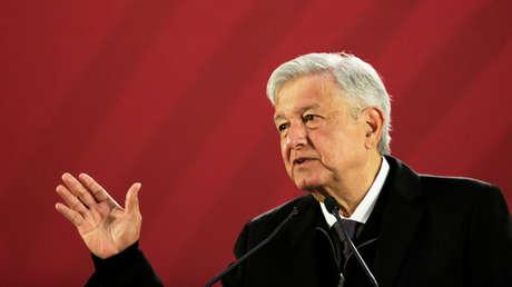 El presidente mexicano, Andrés Manuel López Obrador, en una rueda de prensa en Ciudad de México el 26 de diciembre de 2018.