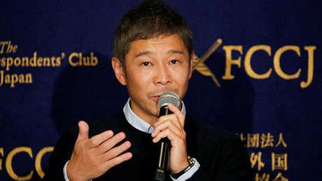 El multimillonario japonés Yusaku Maezawa, fundador y director ejecutivo de Zozo, en Tokio, Japón, el 9 de octubre de 2018.
