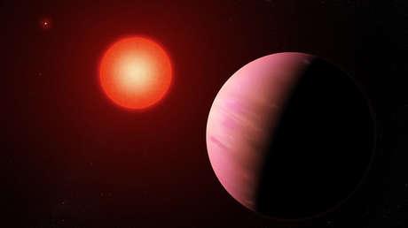 El exoplaneta K2-288Bb.