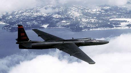 Un U-2 'Dragon Lady' en una misión de entrenamiento.