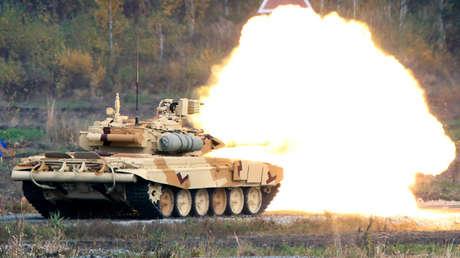 Imagen ilustrativa / Tanque ruso T-90S.