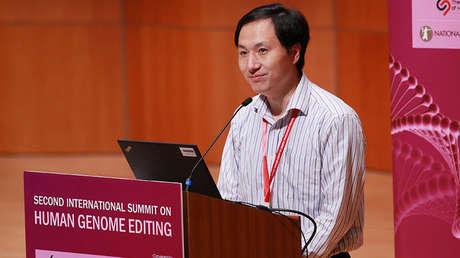 El científico chino He Jiankui.