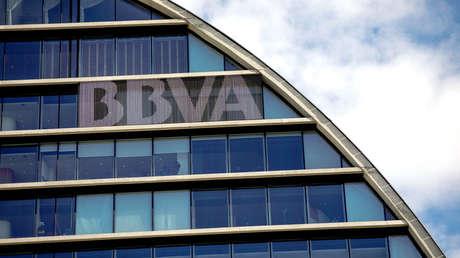 Sede del banco español BBVA en Madrid, España. 12 de junio de 2018.