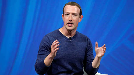El presidente de Facebook, Mark Zuckerberg.