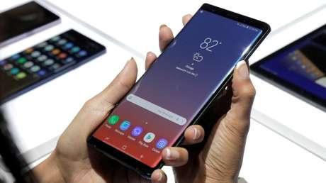 Samsung Galaxy Note 9. Imagen ilustrativa