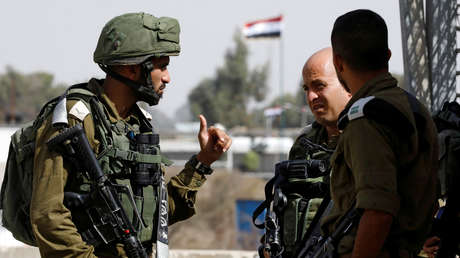 Soldados israelíes cerca del cruce de Quneitra en la línea fronteriza entre Israel y Siria, el 15 de octubre de 2018.