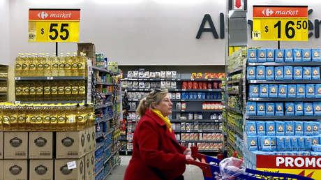 Supermercado en Buenos Aires, Argentina.