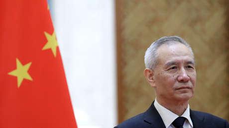 El viceprimer ministro chino Liu He, Beijing, China, el 25 de junio de 2018.