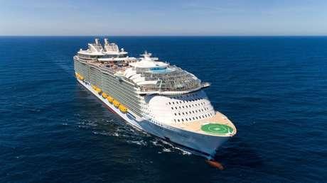 El crucero Symphony of the Seas de la compañía Royal Caribbean