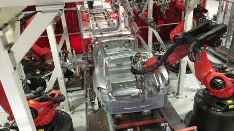 Fábrica de Tesla en Fremont, California, el 25 de julio de 2016.