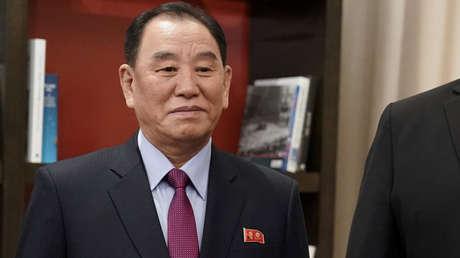 El enviado de Corea del Norte, Kim Yong-chol, en Washington, EE. UU., 18 de enero de 2019.
