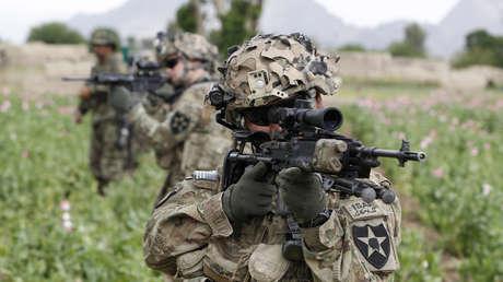 Soldados estadounidenses en la provincia de Kandahar, en el sur de Afganistán, el 21 de abril de 2012.