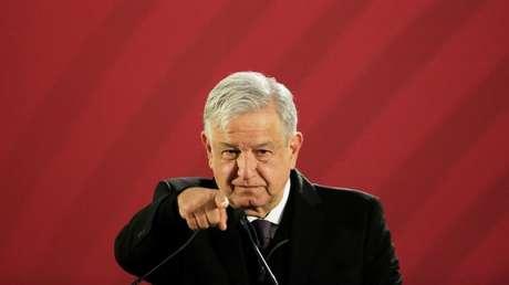 El presidente de México, Andrés Manuel López Obrador. Ciudad de México 26 de diciembre de 2018.