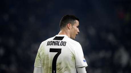 El futbolista portugués Cristiano Ronaldo. Turín, Italia, 22 de diciembre de 2018.