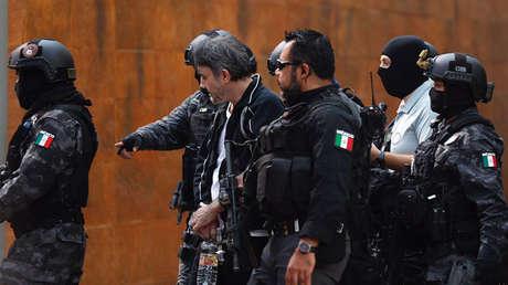 El narcotraficante Dámaso López Nuñez, arrestado en Ciudad de México, en mayo de 2017.