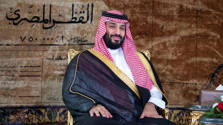 Mohammed bin Salman, el príncipe heredero saudí.