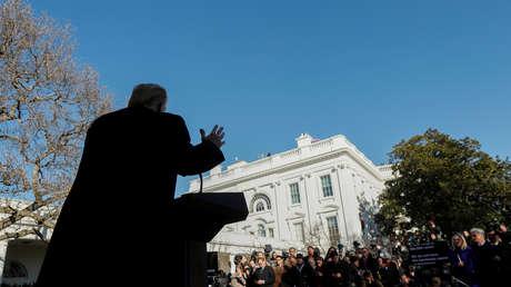 El presidente de EE.UU., Donald Trump, en Washington, el 25 de enero de 2019.