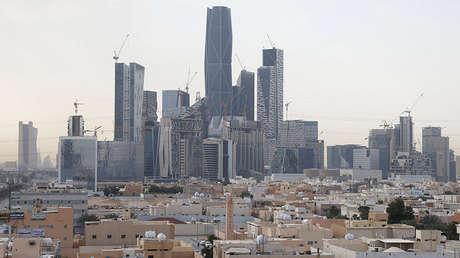 Distrito financiero Rey Abdullah, al norte de Riad, Arabia Saudita, el 1 de marzo de 2017.