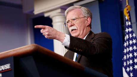 John Bolton, asesor de Seguridad Nacional de EE.UU. en la Casa Blanca, 27 de noviembre de 2018
